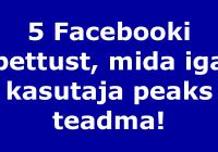 5 FB pettust